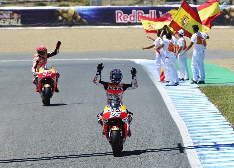 MotoGp: Pedrosa vola ad Jerez, solo 10° Rossi