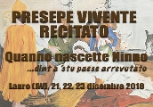 Presepe recitato a Lauro